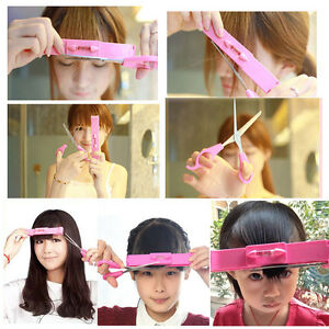 DIY-Makeup-Artifact-Style-Hair-Cutting-Guide-Layers-Bang-Hair-Trimmer-Clip-Combo