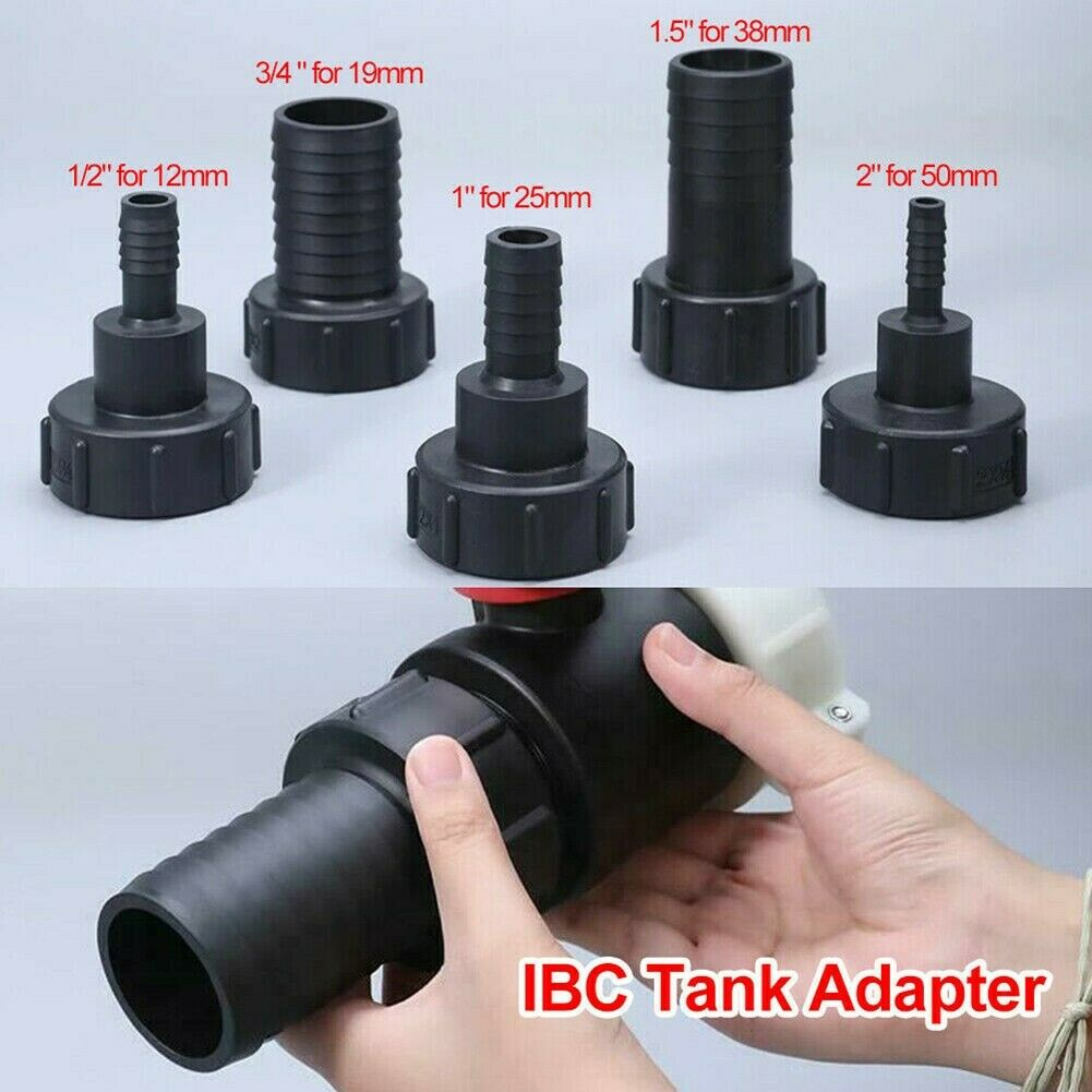 1/2~2 Water IBC Tank Adapter Garden Hose Adapter Tap Connector Fitting Tool UK