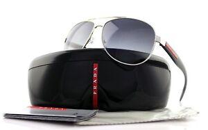POLARIZED-New-PRADA-Benbow-Aviator-Pilot-Metal-Sunglasses-PS-53PS-1BC5W1-SPS-53P