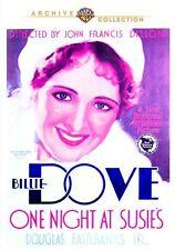 ONE NIGHT AT SUSIE'S - (1930 Billie Dove) Region Free DVD - Sealed
