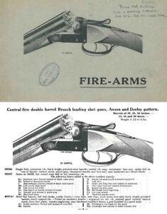Details about Theate Freres 1924 Gun Catalog Liege, Belgium