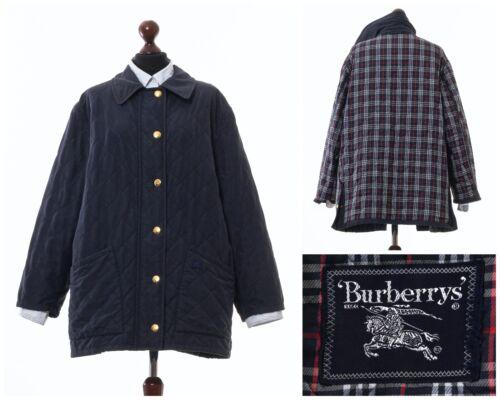 Vintage Women's BURBERRYS Quilted Quilt Coat Jacke