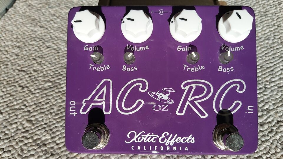 Ac & rc-booster, Xotic Effects Oz Noy