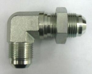 Male Elbow AF C5405-08-12-1//2 Male JIC x 3//4 Male Pipe 90°