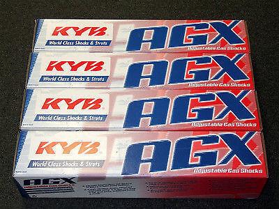 KYB AGX Adjustable Shocks 92-01 Honda Prelude BB2//6 Front+Rear Set
