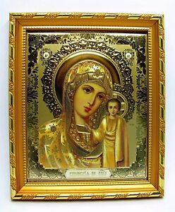 Icone-Mere-de-Dieu-de-Kazan-benies-14-5x12-5x1-5-CM