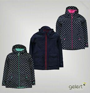 Garcons-Filles-Gelert-Respirant-cote-Veste-Impermeable-Tailles-Age-De-5-To-13-ans