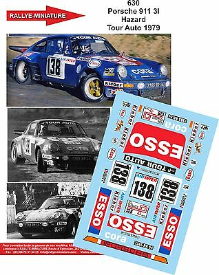 DECALS 1//43 REF 602 PORSCHE 911 BEGUIN TOUR AUTO DE FRANCE 1979 RALLYE RALLY