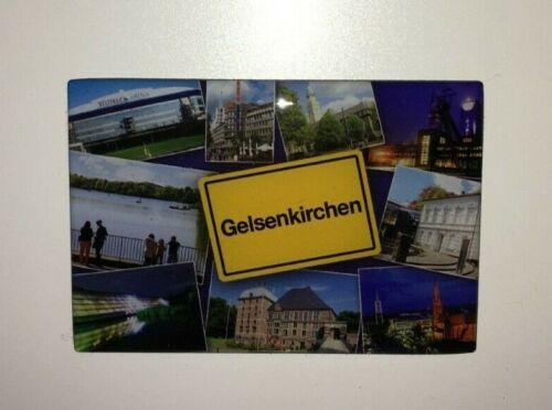 Bergbau Ruhrgebiet Zeche Gelsenkirchen Flex Magnet Kumpel