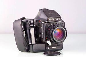 Mamiya-SLR-6X4-5-M645-1000s-Sekor-80mm-n-120-90-Motor-Cla-Serviced-Tested