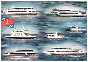 AK-Grossformat-Vitte-auf-Hiddensee-Reederei-Hiddensee-GmbH-Schiffe-um-2005