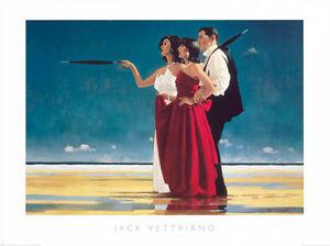 Poster-Kunstdruck-THE-MISSING-MAN-I-Jack-Vettriano-Bild-Deko-Plakat-Neu-80x60
