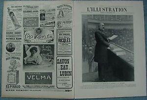 L-039-ILLUSTRATION-3278-DU-23-12-1905-ROUVIER-ROCKEFELLER-LES-POSTES-RUSSE-ALGESIRAS