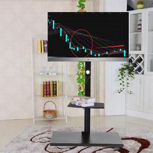 32-55-034-Cantilever-TV-Stand-Mount-Bracket-2-Shelves-For-LG-TCL-LCD-LED-56-60-65-034