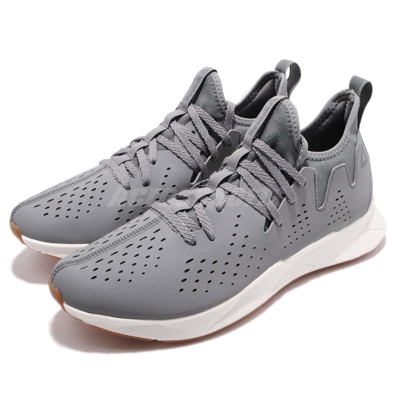 Reebok Supreme Runner Foggy Grey Chalk Gum Men Running shoes Sneakers CN2916