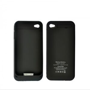 low priced bf962 651bd Details about iPhone 4/4S Battery Pack 1900mAh 500mA Power Charger External  Battery Case BLK/W