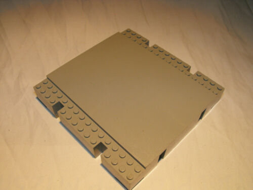 LEGO 2617 ROAD BASE platform dock warf grey