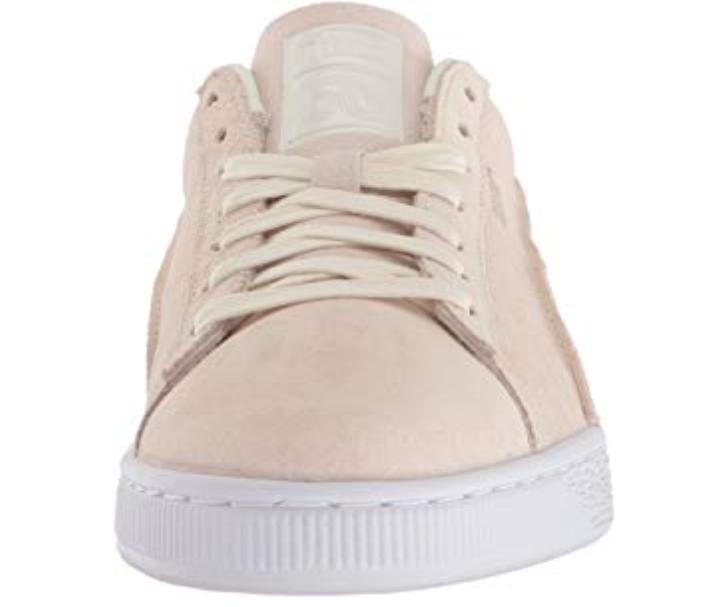 Puma uomini classici classici classici esposti strati di scarpe suedewhisper bianconoi 13 m f9e251