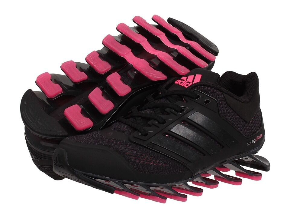 ADIDAS SPRINGBLADE DRIVE WOMEN'S  RUNNING SHOES  D73958  BLACK/PINK Special limited time