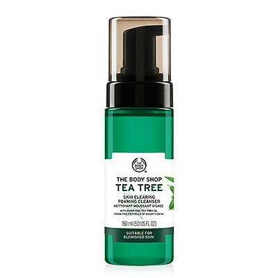 The Body Shop Tea Tree Skin Clearning Foaming Cleanser 150ml