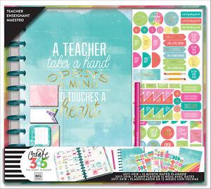 Details about 2017-2018 The BIG Happy Planner Teacher Box Kit- Kaleidoscope  Homeschool UNDATED