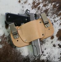 "1911 Leather Holster Inside The Waistband Iwb Fits 3"", 3.5"", 4"", 4.25"", 5"" Usa"