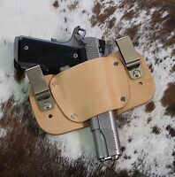 """1911 Leather Holster Inside The Waistband Iwb Fits 3"""", 3.5"""", 4"""", 4.25"""", 5"""" Usa"""