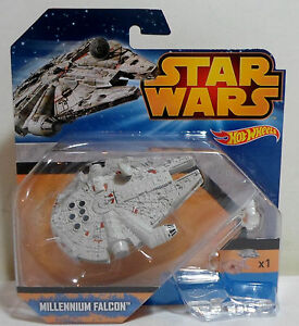 HOT WHEELS 2015 STAR WARS MILLENIUM FALCON + FLIGHT NAVIGATOR EUROPEAN MOSC NEW