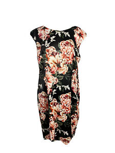 Trent Nathan Events Womens Size 16 A - Line Midi Floral Dress