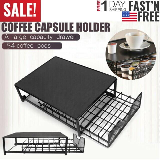 Flagship Coffee Capsules Organizer Nespresso Vertuoline Pod Rack Holder