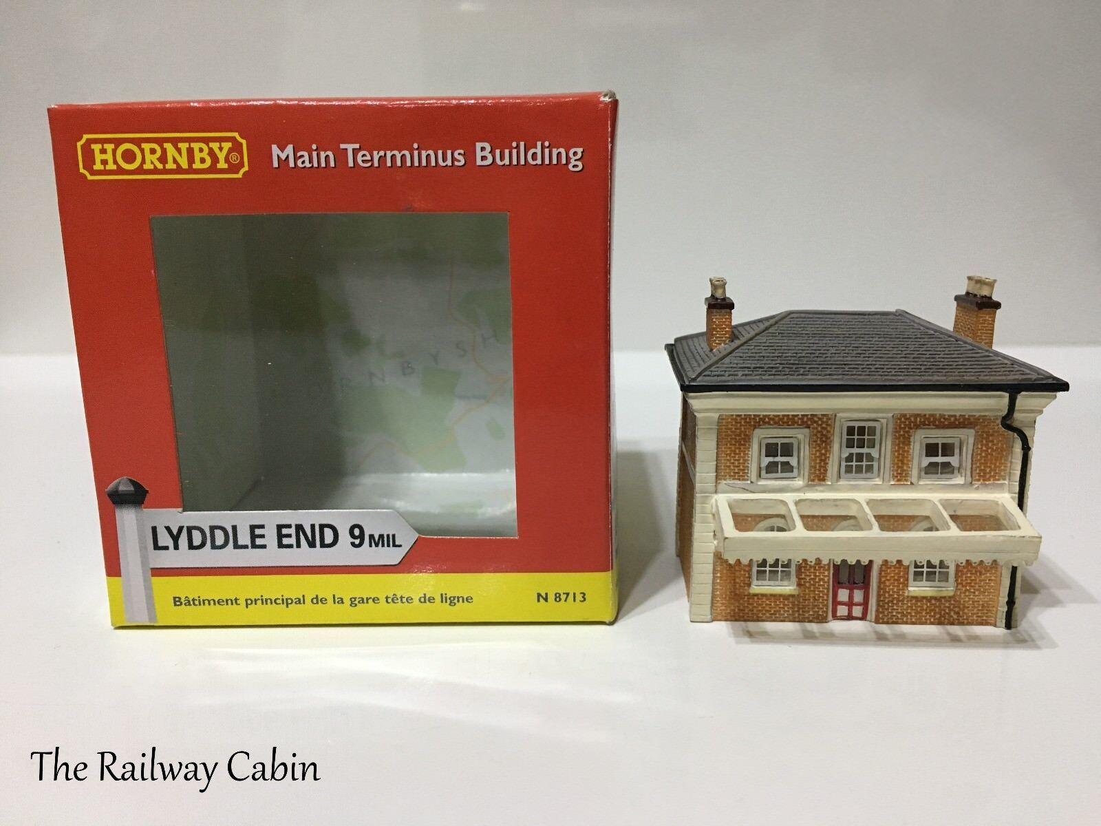 Lyddle End N Gauge Building Main Terminus Building N8713