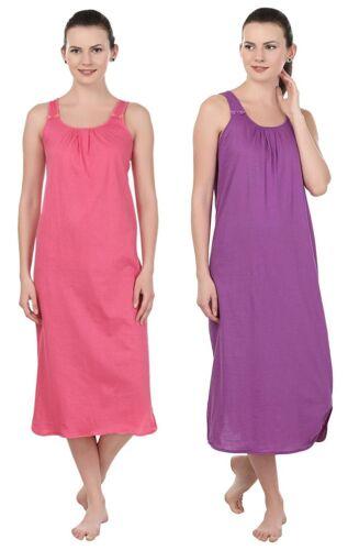 Purple Nightie Babydoll Womens Sleepwear Lingerie Dress Chemise Nightie Set of 2