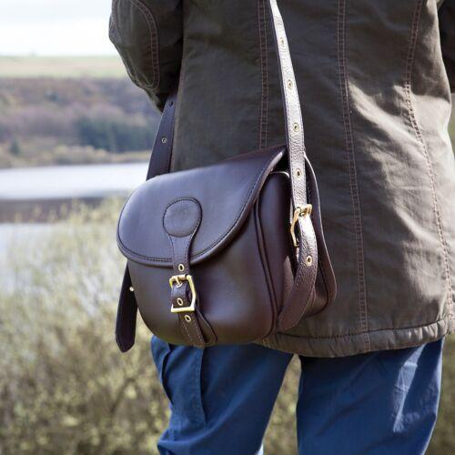 New Premium Soft Leather Cartridge Bag