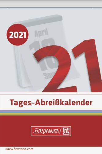 Brunnen Abreißkalender 7,5x11cm Nr.5-2021