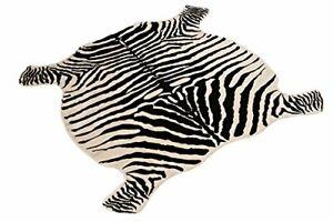 Area Rug Faux Zebra Print Rug 4x4.6 Feet Rug/Mat/Carpets For