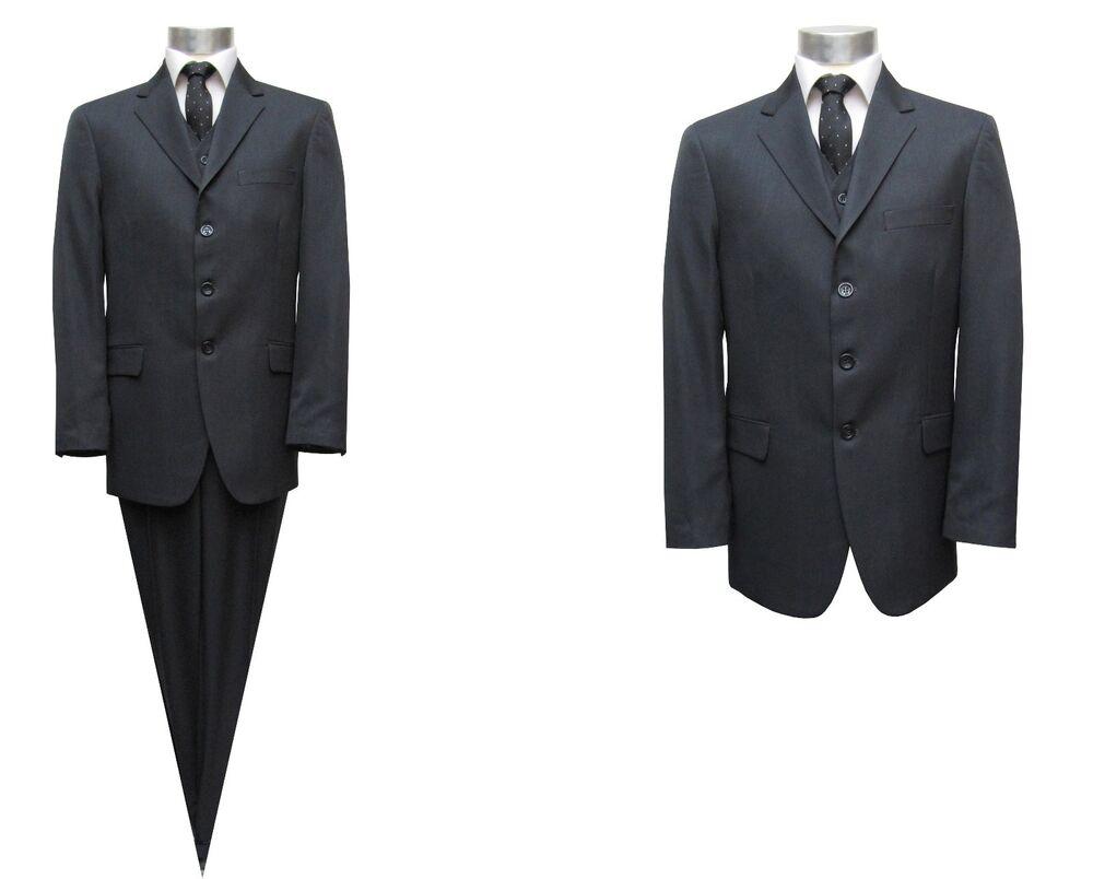 Humoristique Hommes Costume 3 Pièces Offre Taille 94 Gris Foncé Top PastèQues