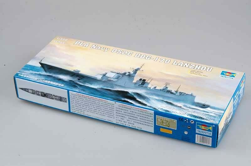 04530 Trumpeter 1 350 Model PLA Navy 052C DDG-170 LANZHOU Missile Destroyer Kit