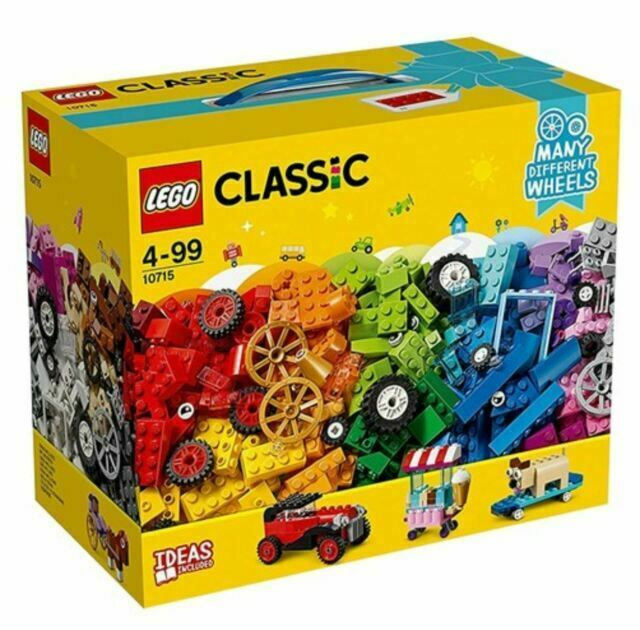 LEGO classical Idea Parts Tire Set 10715 Free Shipping w//Tracking# New Japan