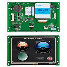 5 Hmi Stone Lcd Module With Adapter Boards And Digital Voltmeters