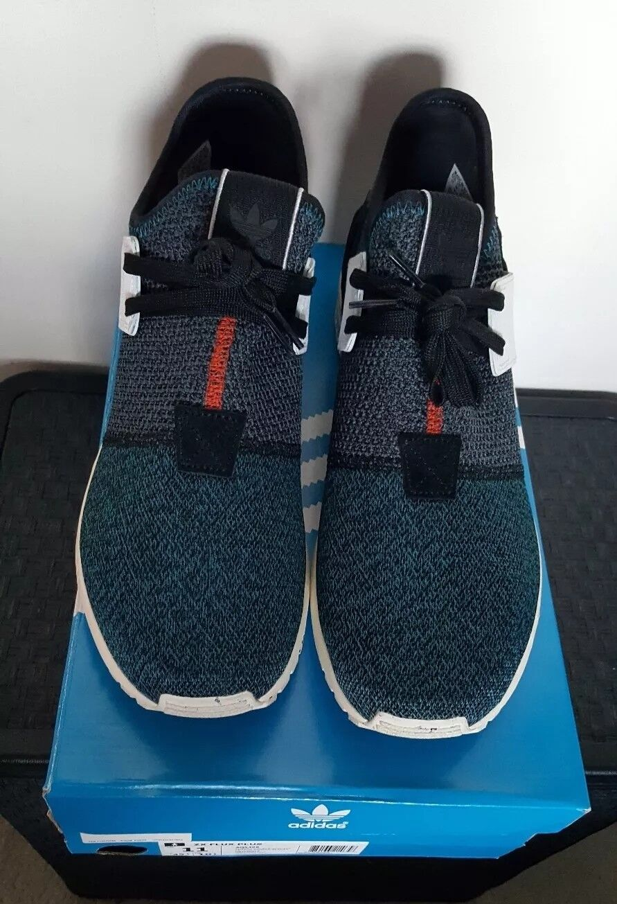 100% authetic - adidas zx - flux - authetic plus, original - box!! c63b0e