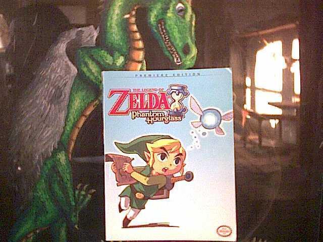 2007 Legend of Zelda - Phantom Hourglass Nintendo Strategy Guide * free shipping