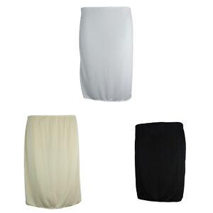 Ex-M-amp-S-Marks-And-Spencer-Waist-Half-Slip-Underskirt-3-lengths-3-Colours