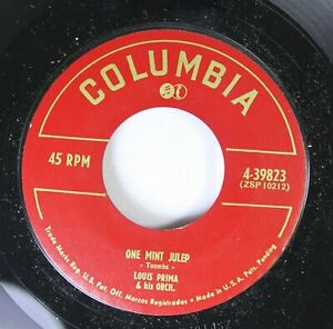 Jazz-45-Luis-Prima-amp-His-Orch-One-Mint-Julep-Chili-Sauce-On-Columbia