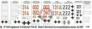 Peddinghaus-1-48-German-Tank-Markings-in-Final-Battle-WWII-No-1-9-tanks-1030