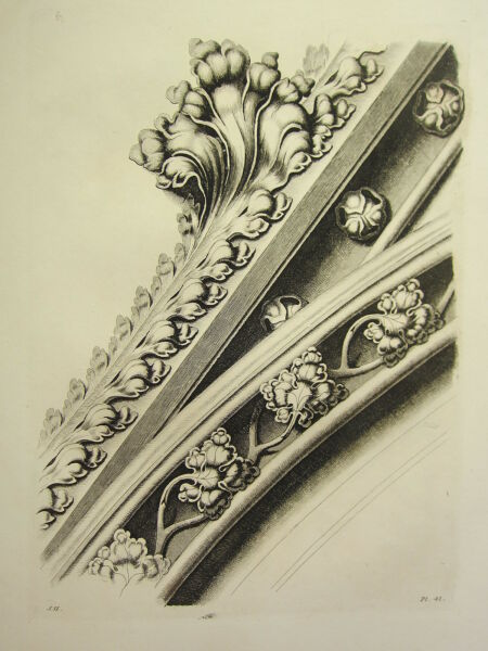 Architectural & Garden Other Architectural Antiques 1795 Print Gothic Ornament York Minster ~ Two Heads Over A Stall Chapter-house