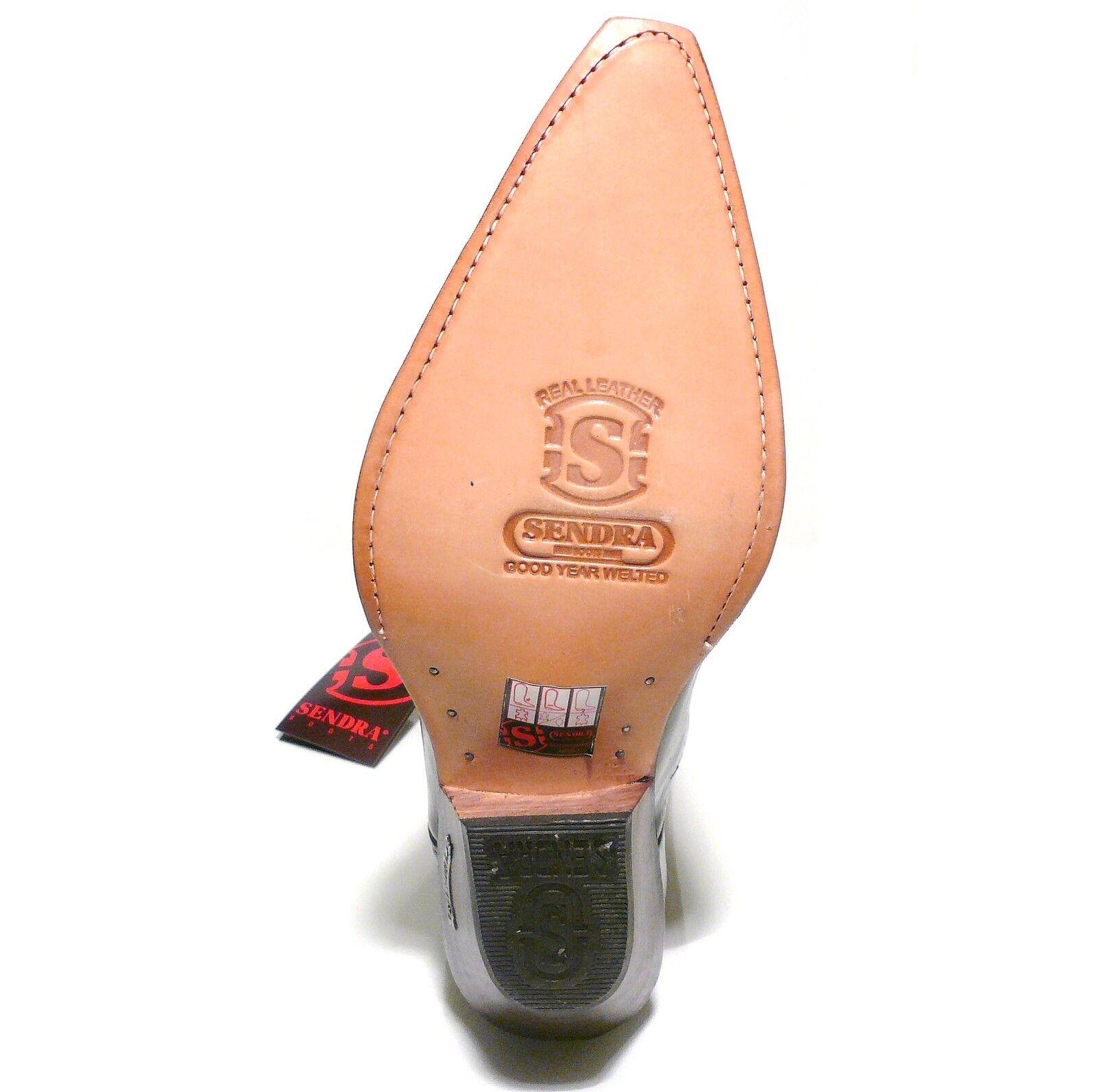 Sendra Sendra Sendra bottes cowboybottes style no. 6990 marron 8a3d21