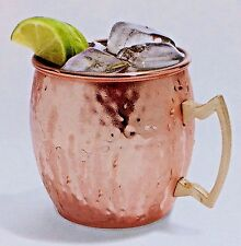 Copper and Brass Cup Hammered Moscow Mule 20 Fld oz Mug New in Box