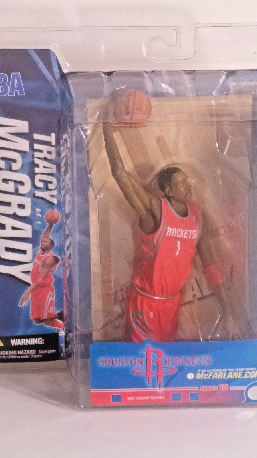 NBA Tracy McGrady Houston Rockets serie 10