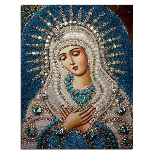 Nuevo HAZLO TÚ MISMO 5D Ikons Diamante Pintura Rusia humano Virgen Y Niño Forma Artesanía