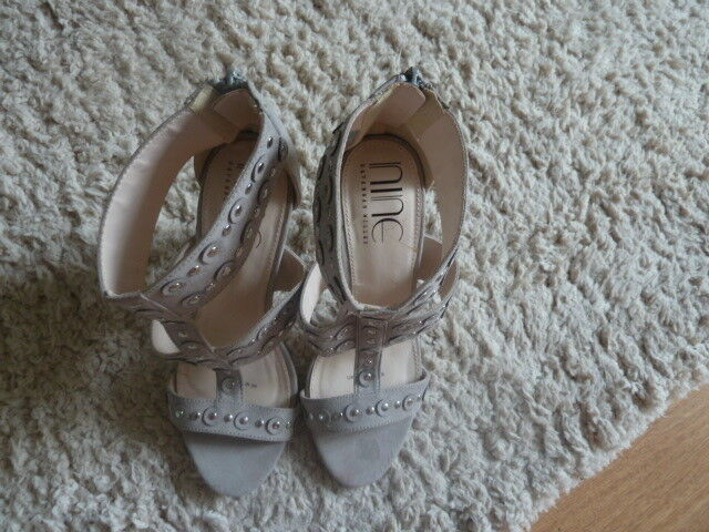 nine by Back savannah miller Open Toe Zip Back by Shoes, Worn Once e1cbac